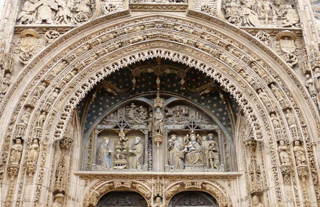 Fachada Iglesia Santa Maria Aranda de Duero Burgos