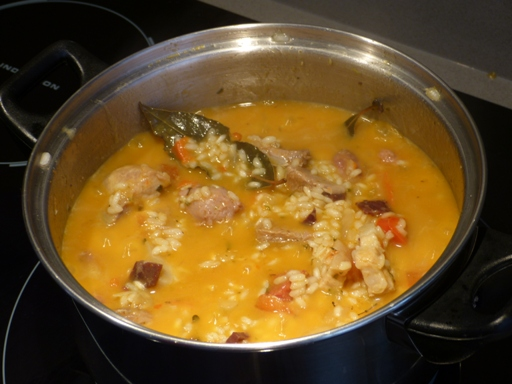 preparar arroz a la zamorana