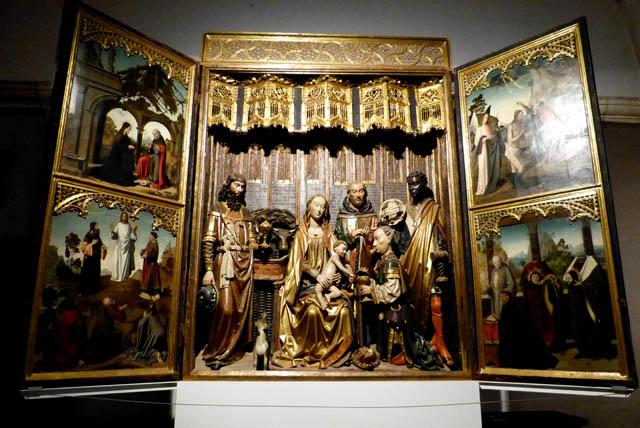 museo de arte sacro en la excolegiata de covarrubias