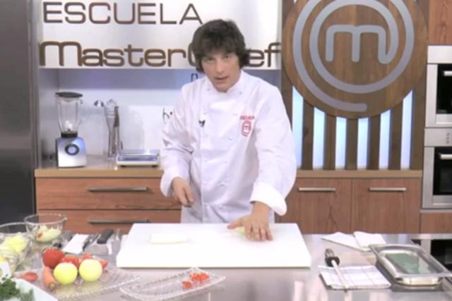 Escuela MasterChef_Jordi Cruz Cocinando
