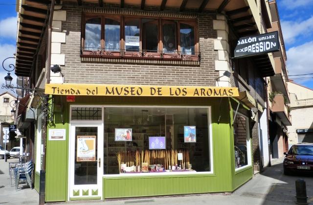 Tienda del Museo de los Aromas