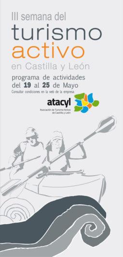 Cartel semana del turismo activo en Castilla y León