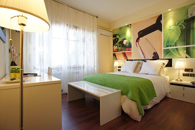 Habitación enoturismo del Hotel Montermoso de Aranda de Duero