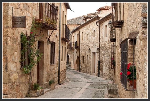 rincones medievales Calles de Pedraza