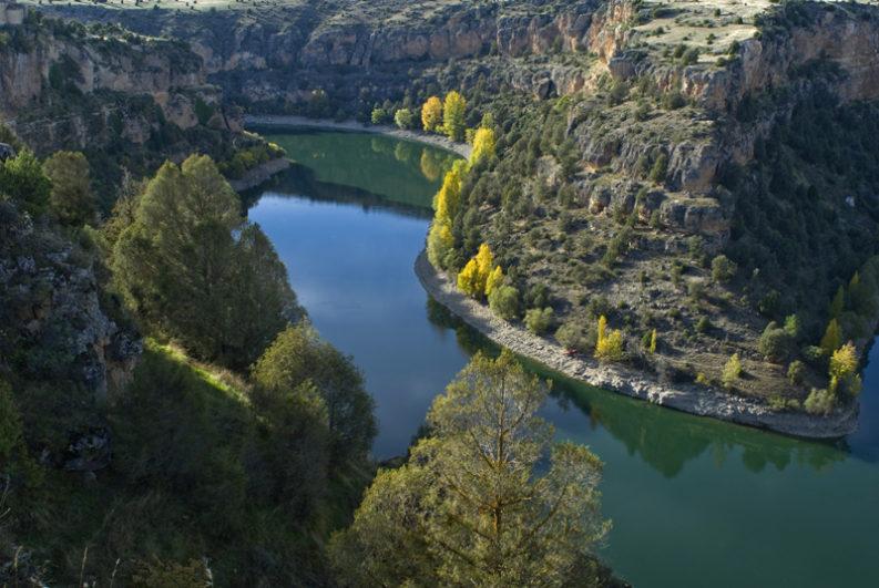Hoces del Río Duratón Fuente: www.elrincondeltrotamundos.com