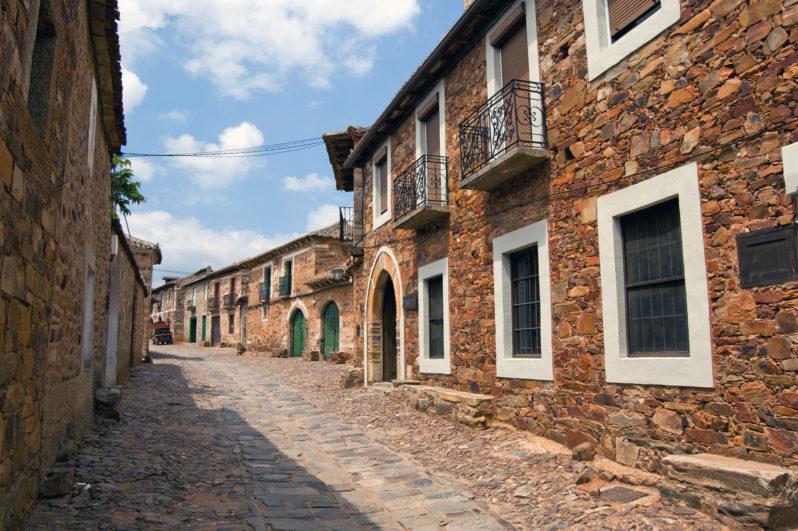 rincones medievales Castrillo de los Polvazares León