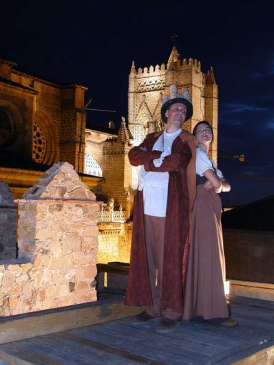 Visita Teatralizada Nocturna Murallas de Ávila