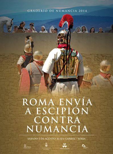 """Recreación histórica """"Roma envía a Escipión contra Numancia"""" Soria"""