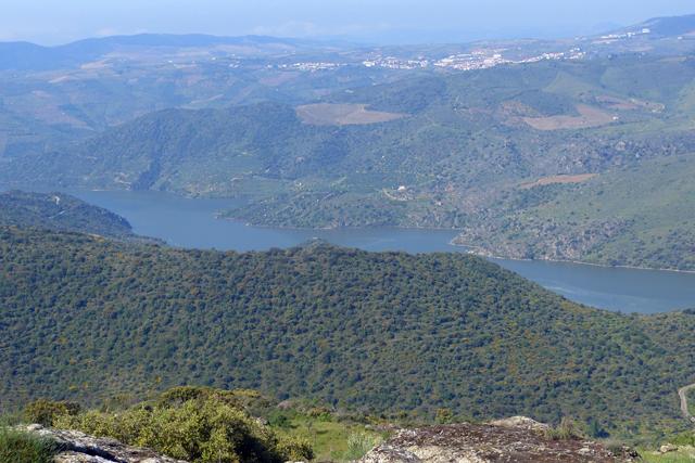 Vistas del Río Duero desde Vilvestre-Salamanca