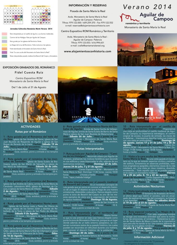 Jornadas culturales románico norte Palencia