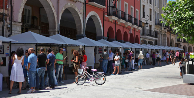 Llega 'Artearanda 2014', la Feria de las Artes de Aranda de Duero
