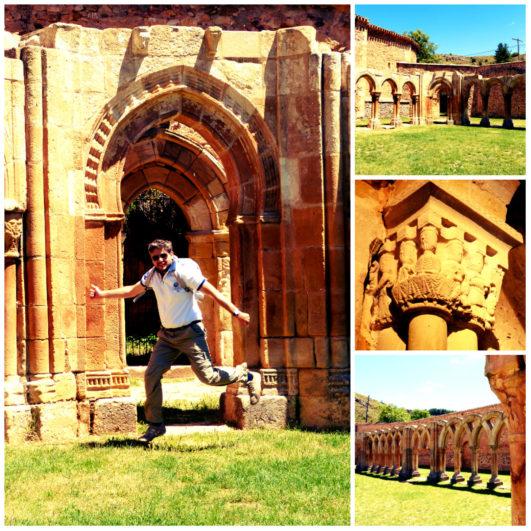 Monasterio de San juan de Duero Soria - Tren Campos de Castilla