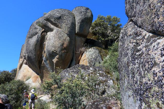 Rocas del sendero vilvestre - salamanca