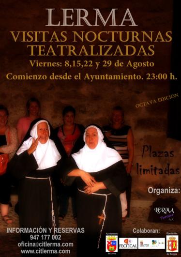 Visitas Nocturnas teatralizadas Lerma Burgos