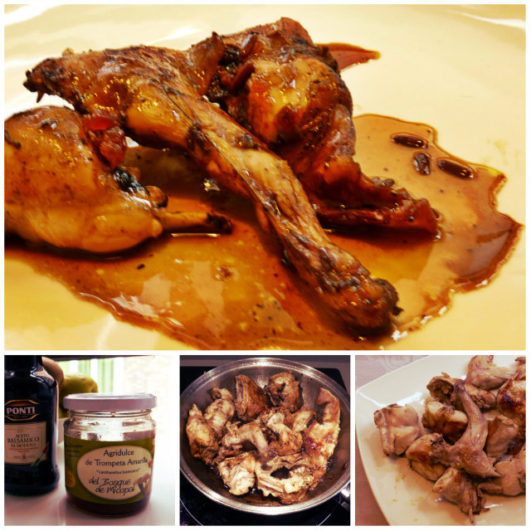 receta de conejo agridulce