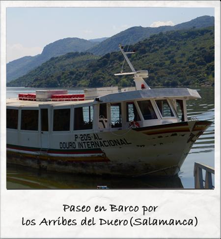 rincones de Castilla y León Paseo en barco