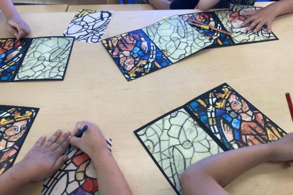 taller ilustración medieval para niños