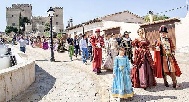 mercado barroco de Ampudia (Palencia) Fuente: Diario Palentino