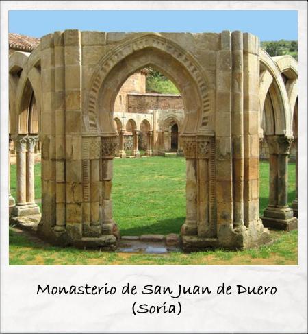 monasterio de San Juan de Duero - Soria Fuente: www.fotoviajero.com