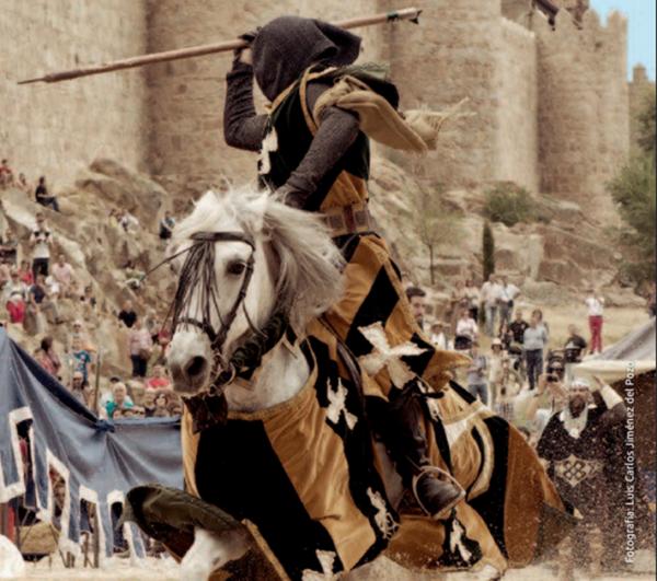 Mercado medieval de Ávila 2015 - torneo medieva
