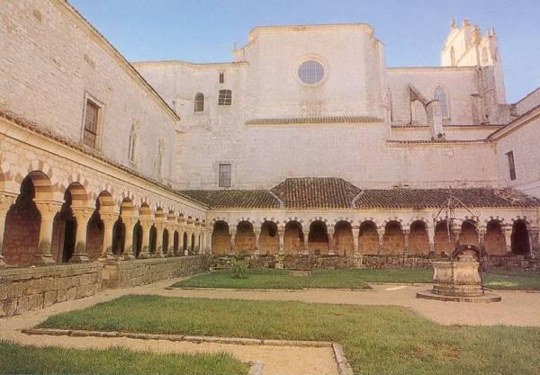 Claustro de Cardeña (Burgos)