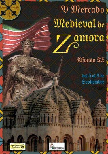 Cartel Mercado Medieval de Zamora