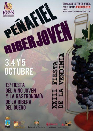 vendimia en Castilla y León Cartel Riberjoven 2014