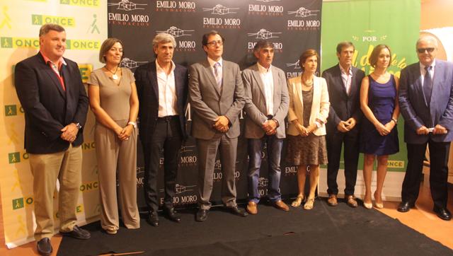 Emilio Moro y ONCE