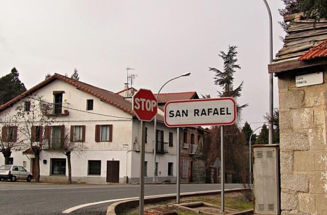 Entrada a San Rafael