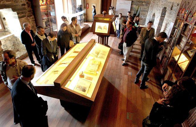 Interior Biblioteca Templaria. Foto: César Sánchez