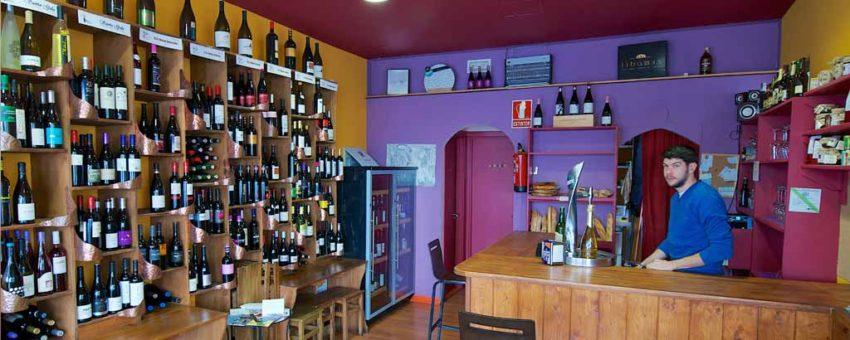vendimia en Castilla y León vinoteca en el Bierzo