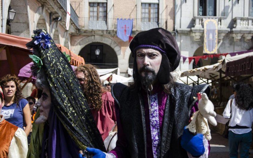 Mercado Medieval de Ávila mago medieval