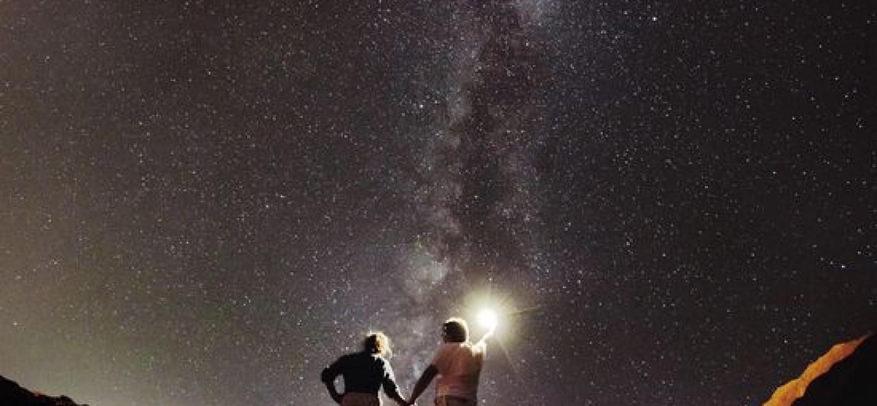 observar las estrellas