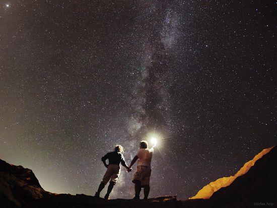 La Vía Láctea desde el desierto del Sinaí, Egipto. / Stefan Seip