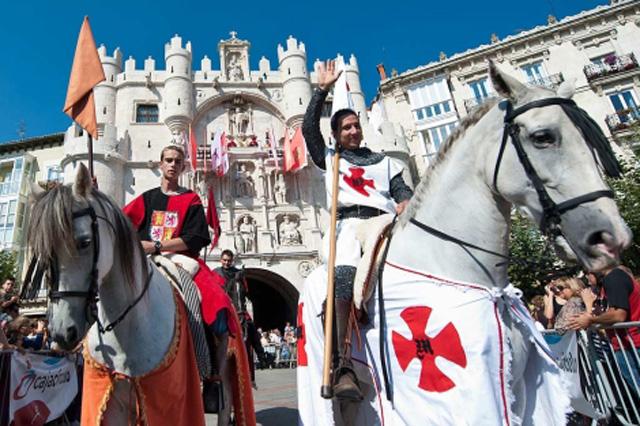 Fin de semana Cidiano Burgos_desfile caballos Fuente: www.elmundo.es