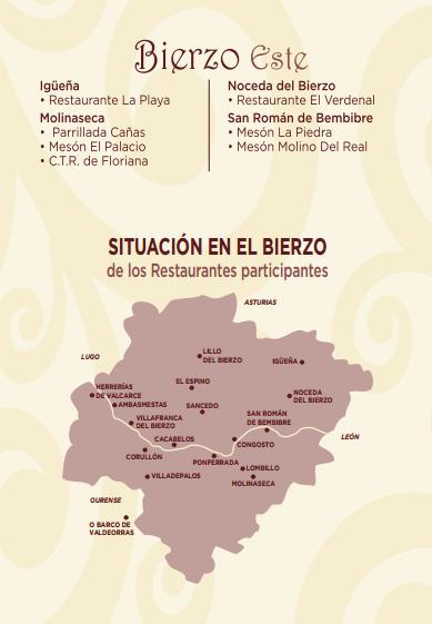 XXX Jornadas Gastronomicas Bierzo-Localizacion-de-restaurantes (1)