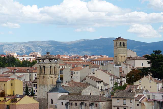 Panorámica Segovia