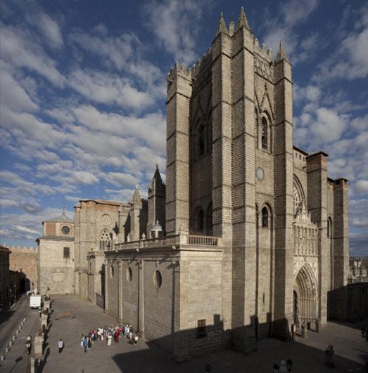 Catedrales de Castilla y León Catedral de Ávila