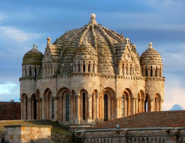 Catedrales de Castilla y León Cimborrio de la Catedral de Zamora