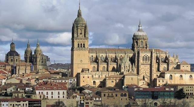 Catedrales de Castilla y León Catedral nueva de Salamanca