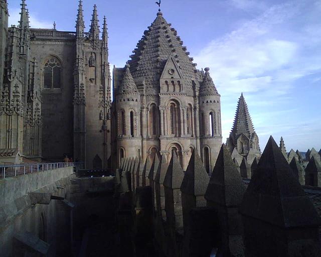 Catedrales de Castilla y León La Catedral vieja de Salamanca