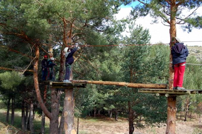 Parque de aventuras Fuente: Gredos Activo