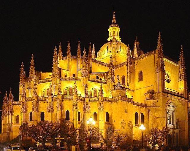 Catedrales de Castilla y León Catedral de Segovia