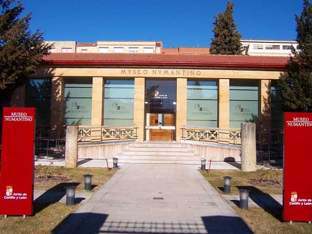 Fachada del Museo Numantino. Fuente: wikipedia