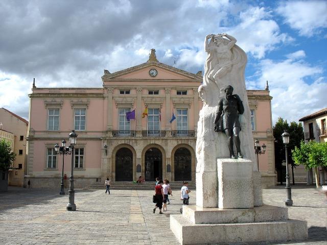 Turismo en Palencia, Plaza Mayor de Palencia