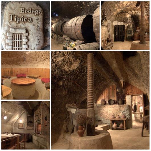 Interior Bodega centenaria Valdesneros