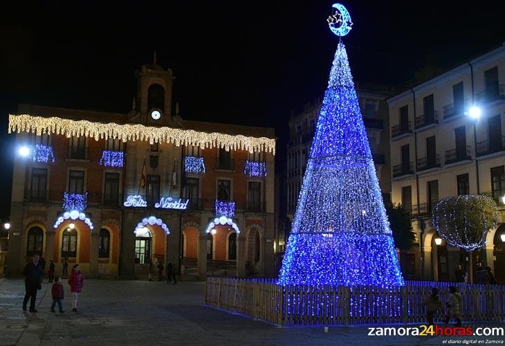 navidad en Zamora Foto: www.zamora24horas.com