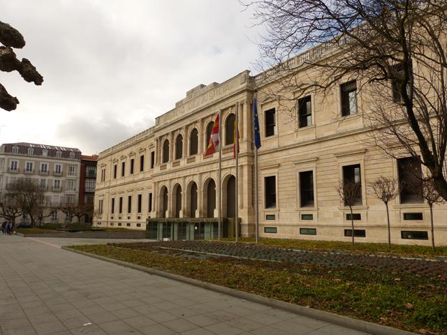visita guiada por burgos, Palacio de Justicia Burgos