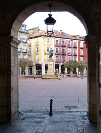 visita guiada por burgos, Plaza mayor de Burgos