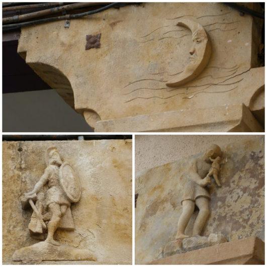 turismo en Salamanca capiteles plaza del corrillo Salamanca